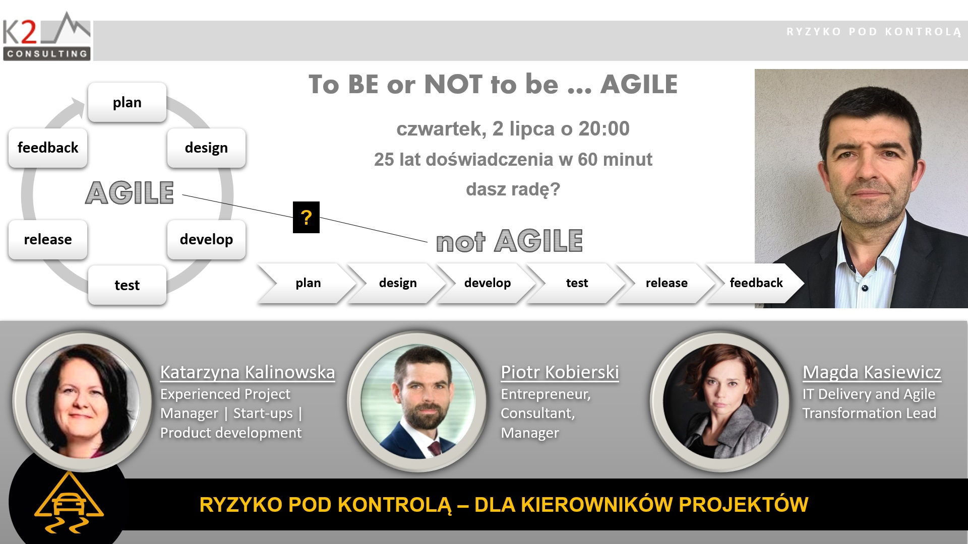 to BE or NOT to be AGILE